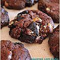 Cookies aux Oréo et morceaux de chocolat blanc