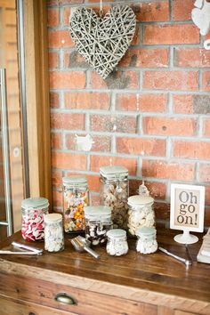 Image via Dominique Bader Photography - Shabby Chic Vintage Sweetie Table