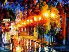 Palette knife oil painting landscape october fog modern large wall pictures canvas art home decor Knife Painting, Large Painting, Oil Painting On Canvas, Canvas Art, Artist Painting, Bright Paintings, Autumn Scenes, Modern Impressionism, Art Graphique