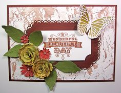 Now onto my project for today, I hope you enjoy! #cheeryld #pinkcloudscraps Dies used: Small Exotic Butterflies #2 w/Angel Wings - DL113AB; Old Parchment - E161; Darling Daisies - A196; Judy's Blooms - C184; Gardenia Strip - B339; Horizon Coved Rectangle Boutique Stacker Frames - DL251; Coved Rectangle-Classic LG Stackers Nesting Dies - XL-10 http://www.cheerylynndesigns.com