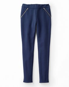 On-Point Ponte Knit Pants - Girls