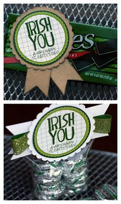 Irish You a Happy St. Patty's Day patricks day treats from leprechaun St Paddys Day, St Patricks Day, Saint Patricks, Leprechaun, Holiday Crafts, Holiday Fun, Holiday Ideas, Festive, Happy St Patty's Day