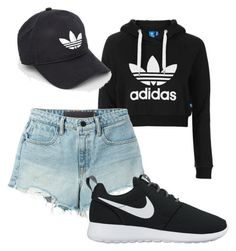 """Untitled #15"" by atuholjakovic ❤ liked on Polyvore featuring adidas Originals, T By Alexander Wang, NIKE and adidas"