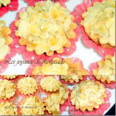 Amandines -Biscuit façon tartelette frangipane