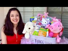 Deluxe Toddler Easter Basket ideas - DIY Healthy Organic & No Candy with...