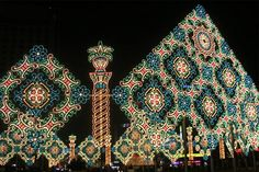christmas lights from around the world: seoul plaza
