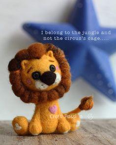 aguja sentía león
