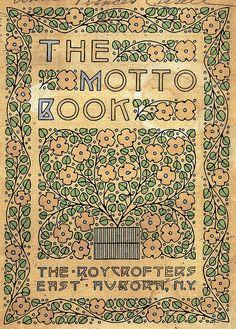 77 Best Roycroft Books Mottos Images Roycroft Art Craft Design