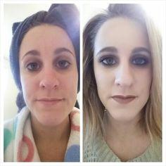 90's inspired makeup look!