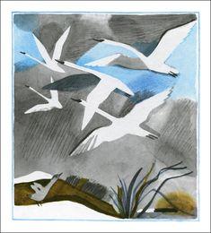 Hans Christian Andersen. The Ugly Duckling. Illustrator Galina Makaveeva, 1987.