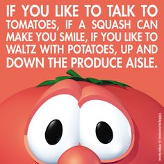 Veggie Tales - shows Silly Songs With Larry, Right In The Childhood, God Made You, Veggietales, Christian Humor, Christian Quotes, We Will Rock You, The Funny, Crazy Funny