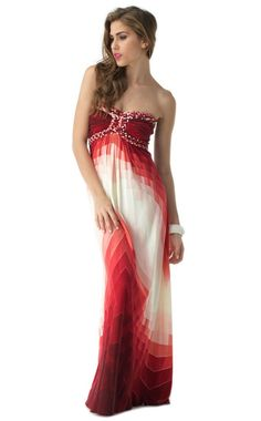Red summery Maxi Dress (Sky dresses) Maxi Abito Rosso