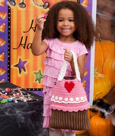 Cupcake Bag   Red Heart , FREE Crochet Pattern , EASY