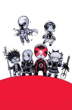 Increíble (como siempre) portada alternativa del Uncanny X-Men #1 obra de @Scott Reed Young