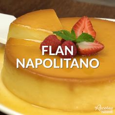 napolitano FLAN, a delicious dessert that you can not miss on your table!Flan napolitano FLAN, a delicious dessert that you can not miss on your table! Köstliche Desserts, Sweet Desserts, Sweet Recipes, Dessert Recipes, Jello Recipes, Cheesecake Recipes, Mexican Food Recipes, Tasty Videos, Food Videos