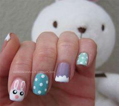 Elegant Easter Themed Nail Art Designs Ideas Trends 2014 12 Elegant Easter Themed Nail Art Designs, Ideas & Trends 2014