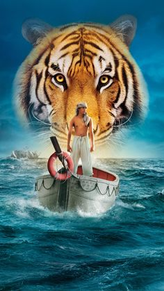 Oscar winning director Ang Lee's cinematic adaptation of Yann Martel's novel Life of Pi finally hits our screens on December. Previously considered to be an 'unfilmable' book, Ang Lee has mana… Irrfan Khan, Scary Movies, Good Movies, Teen Movies, Awesome Movies, Movie List, Movie Tv, 2012 Movie, Movies 2014