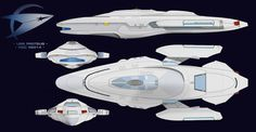 A more militarised version of a regular #StarTrek ship. in use after the events during Nemesis the ship is fast and ideal for fast military response. USS Proteus NCC52014 by HandofManos.deviantart.com on @DeviantArt #StarTrek