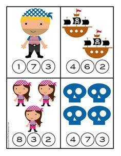 Pirate Worksheets for Kindergarten - Preschool Pirate Theme, Pirate Activities, Preschool Activities, Red Classroom, Classroom Themes, Year 1 Maths, Finger Gym, Pirate Crafts, Kindergarten Worksheets