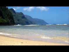 Ke'e Beach, Kauai - snorkel at the end of the road at Ke'e Beach.  Parking is difficult but worth it.  You can hike from here and go along the Napali Coast.  Trail is slippery and hot  but worth it