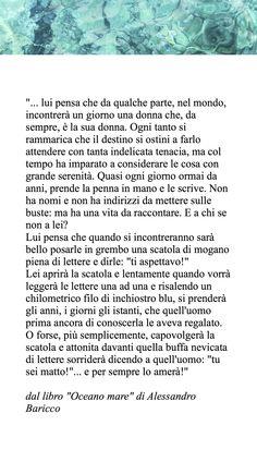 """Alessandro Baricco, """"Oceano mare"""""""