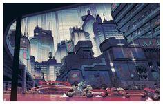 (1) Tumblr Sci Fi City, Neo Tokyo, Built Environment, Future City, City Art, Sculpture, Cyberpunk, Pixel Art, Home Art