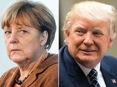 What to expect as Trump meets 'disgrace' Merkel