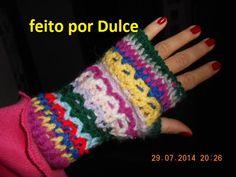 Luvas se dedos faço por encomenda me escreva dulceezarur@gmail.com