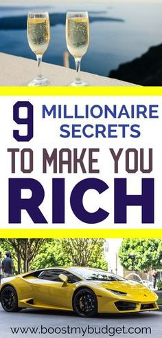 Millionaires are just normal people who made smart choices. Learn these 9 surprising habits that millionaires have in common, and start building your own wealth today! These secret personal finance hacks go a long way to make you rich :) Inspiration Entrepreneur, Financial Tips, Financial Assistance, Budgeting Finances, Budgeting Tips, Savings Plan, Managing Your Money, How To Get Rich, Money Saving Tips