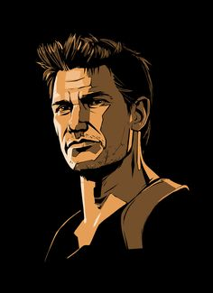"""""""oh crap"""" ~ Nathan drake Drake Uncharted 4, Uncharted Series, Drake Art, Nathan Drake, Drake Drawing, Tape Wall Art, Video Game Art, Video Games, Game Black"""