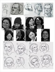 Rhythm drawings done of Arlene Acevedo for Kevin Chen's Analytical Drawing class at Concept Design Academy. Done by Alex Bodnar.