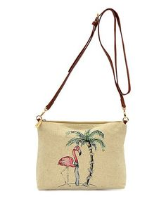 Beige Tropical La Plancha Crossbody Bag  zulilyfinds Tommy Bahama 05c25bd82552f