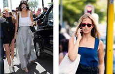 Celebrity Style Inspiration: Kendall Jenner #sewing #sewing patterns #diy #diyfashion