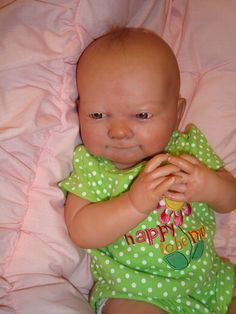 Reborn Baby Doll Preemie Lily  Weighted Anatomically Correct Girl