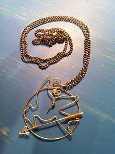 Hunger Games Necklace by SrhKlmn728 on Etsy, $25.00