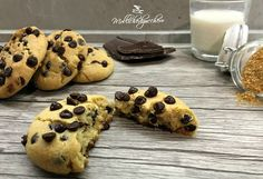 cookies americani ricetta perfetta Ricotta Cookies, Cookie Desserts, Sugar And Spice, Chocolate Chip Cookies, Christmas Cookies, Muffin, Catering, Vegetarian Recipes, Biscuits
