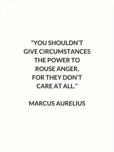 Philosophy Quotes Unique Marcus Aurelius Stoic Philosophy Quote ' Framed Print.