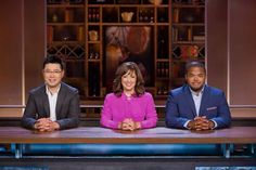 Chef Antonio Park, Chef Anne Yarymowich and Chef Roger Mooking prepare themselves - and their palates - for another intense episode. Roger Mooking, Lynn Crawford, John Higgins, Bran Muffins, Canada, Game, Venison, Games, Gaming