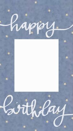 Happy Birthday Template, Happy Birthday Frame, Happy Birthday Posters, Happy Birthday Wallpaper, Birthday Posts, Birthday Frames, Happy Birthday Messages, Instagram Emoji, Iphone Instagram