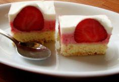 Sladký Sen: Jahodový koláč s citrónovým jogurtom
