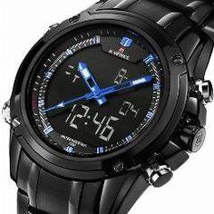 2016 Luxury Brand Men Military Sports Watches Men s Quartz LED Digital Hour  Clock Male Full Steel Wrist Watch Relogio Masculino 8c78346b35