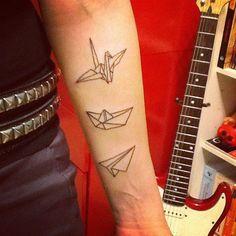 tatuaggio origami - Cerca con Google