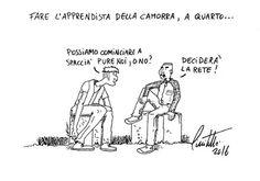 Nuovi posti di lavoro a Quarto... #IoSeguoItalianComics #Satira #Politica