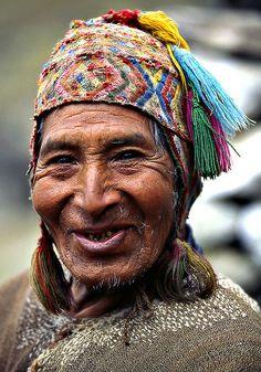 Peruvian man , Q'ero people area by Sergio Pessolano, via Flickr