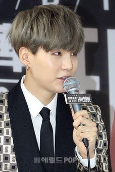 Bts Hairstyle, Best Amazon Products, Jeon Jeongguk, Min Suga, Record Producer, Dark Hair, Rapper, Hair Cuts, Kpop