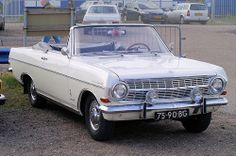 1966 Opel Rekord Cabrio