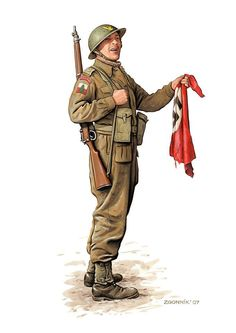 The Military Artwork of Dmitriy Zgonnik British Army Uniform, British Uniforms, Ww2 Uniforms, British Soldier, Military Uniforms, German Uniforms, Military Photos, Military Art, Military History