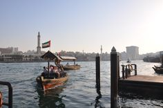 dubai old harbour from spice market