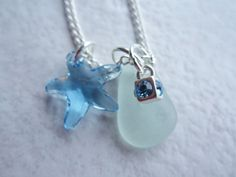 sea glass jewelry beach glass necklace by SusanSeaGlassDesigns, $25.00