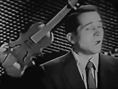 "Rare 1954 kinescope of Perry Como performing the song ""Tenderly. Perry Como, Pop Singers, Good Music, Rock And Roll, All About Time, Songs, Live, Youtube, Rock N Roll"